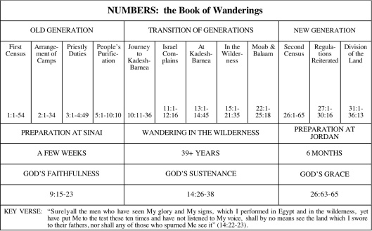 Numbers book chart